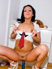 Pictures of teen Briana Devil masturbating until you get there