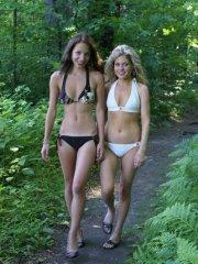 Pictures of teen girl Dream Taylor being naughty with her friend