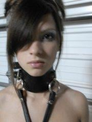 Pictures of teen Emi Clear dressed in some kinky leather