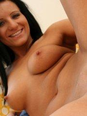 Pictures of Heidi Hottie getting her pussy ready for you