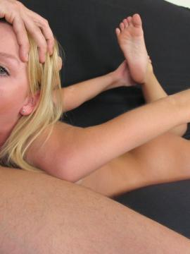 Pictures of Madison Scott taking a huge cock down her throat