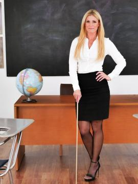 Teacher India Summer disciplines student with sex