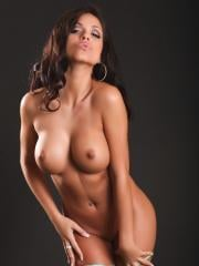 Pictures of Janessa Brazil showing off her naked body