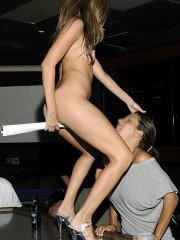 Pictures of Jenna Haze making the bucks