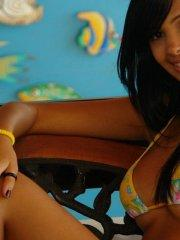 Pictures of teen Karla Spice flaunting her hot teen body