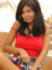 Pictures of Karla Spice teasing in a short skirt