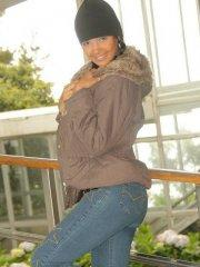 Pictures of teen hottie Karla Spice teasing in her winter coat