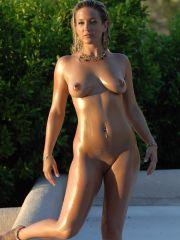 Pictures of Lia 19 completely nude outside