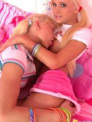 Pictures of Little Laney getting it on with Lexie