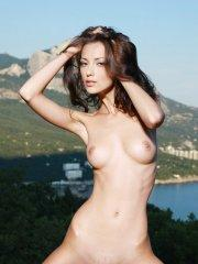 Pictures of Anna AJ naked outside