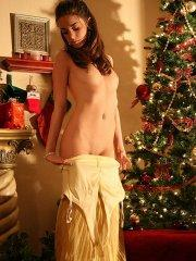 Pictures of Natalie Sins giving you an early Christmas present