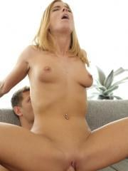 Redhead girl Chrissy Fox gets her hot pussy filled
