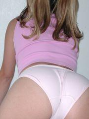 Pictures of Ronni Tuscadero messing around in her panties
