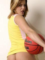 Pictures of Sara Sexton playing basketball nude