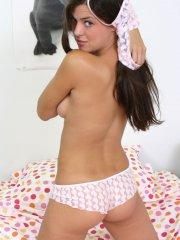 Pictures of teen star Shayla Model waiting for you to take her clothes off