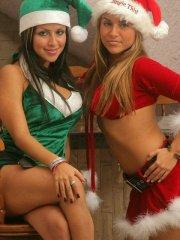 Pictures of the Spice Twins giving you a threesome for xmas