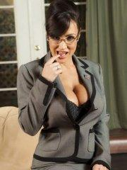 Pictures of Lisa Ann dressed as your fantasy secretary