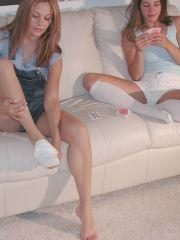 Pictures of Tori and Tawnee Stone enjoying each other nude